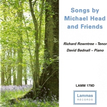 david bednall organist, songs by michael head, cover