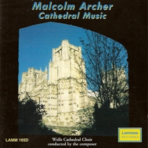 david bednall organist, malcolm archer, cathedral music, cover