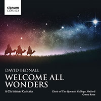 welcome all wonders - a chrimstas cantata